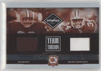 Jim Brown, Reuben Droughns #/100