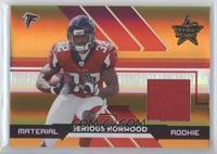 Jerious Norwood #/25