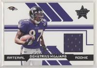 Demetrius Williams [NoneGoodtoVG‑EX] #/799