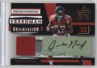 Jerious Norwood #/10