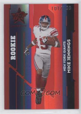 2006 Leaf Rookies & Stars Longevity - [Base] - Ruby #131 - Michael Jennings /199