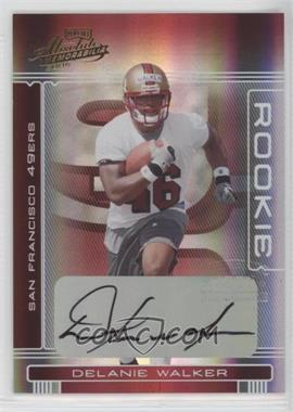 2006 Playoff Absolute Memorabilia - [Base] #247 - Delanie Walker /299