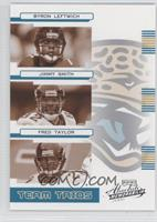 Byron Leftwich, Jimmy Smith, Fred Taylor #/200