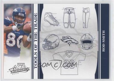 2006 Playoff Absolute Memorabilia - Tools of the Trade - Blue #TOT-117 - Rod Smith /75