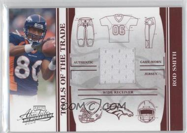 2006 Playoff Absolute Memorabilia - Tools of the Trade - Red Materials [Memorabilia] #TOT-117 - Rod Smith /100
