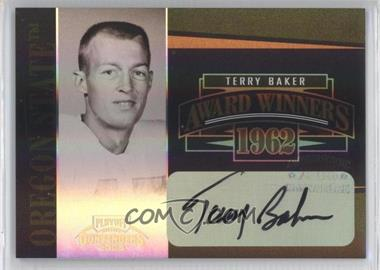 2006 Playoff Contenders - Award Winners - Signatures [Autographed] #AW-19 - Terry Baker /200