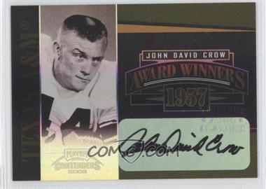 2006 Playoff Contenders - Award Winners - Signatures [Autographed] #AW-25 - John David Crow /200