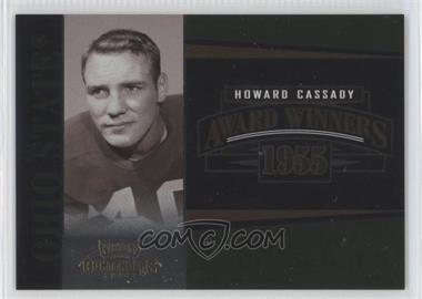 2006 Playoff Contenders - Award Winners #AW-23 - Howard Cassady /1000