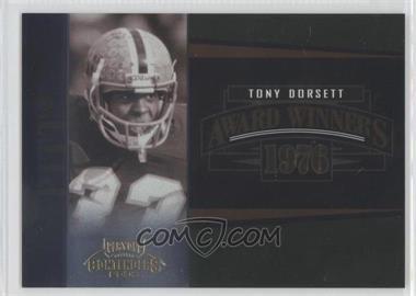 2006 Playoff Contenders - Award Winners #AW-26 - Tony Dorsett /1000
