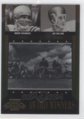 2006 Playoff Contenders - Award Winners #AW-39 - Joe Bellino, Roger Staubach /1000