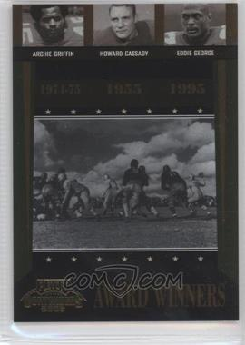 2006 Playoff Contenders - Award Winners #AW-43 - Archie Griffin, Eddie George, Howard Cassady /1000