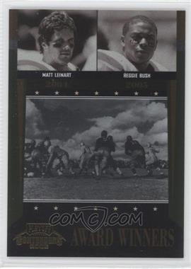 2006 Playoff Contenders - Award Winners #AW-45 - Matt Leinart, Reggie Bush /1000