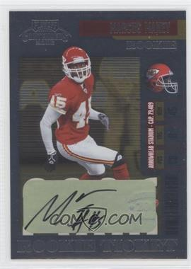 2006 Playoff Contenders - [Base] #157 - Marcus Maxey