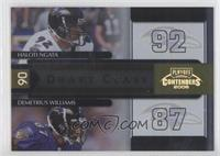 Demetrius Williams, Haloti Ngata /250