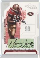 Manny Lawson /150