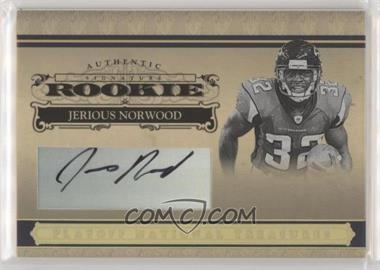 2006 Playoff National Treasures - [Base] - Rookie Gold Signatures [Autographed] #126 - Jerious Norwood /15