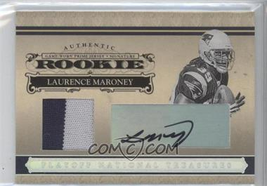 2006 Playoff National Treasures - [Base] - Rookie Silver Materials Signatures [Autographed] [Memorabilia] #108 - Laurence Maroney /49
