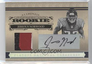 2006 Playoff National Treasures - [Base] - Rookie Silver Materials Signatures [Autographed] [Memorabilia] #126 - Jerious Norwood /49