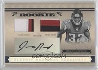 Rookie Combo Materials Prime Signatures - Jerious Norwood #/99