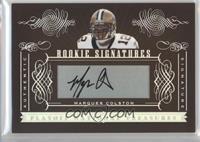 Rookie Signatures - Marques Colston #/200