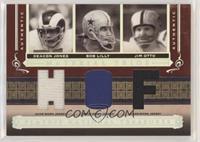 Deacon Jones, Bob Lilly, Jim Otto #/15