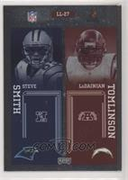 Steve Smith, LaDainian Tomlinson, Larry Johnson, Shaun Alexander #/100