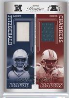Larry Fitzgerald, Chris Chambers #/250