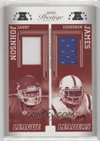 Edgerrin James, Larry Johnson #/250