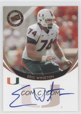 2006 Press Pass - Autographs - Bronze #ERWI - Eric Winston