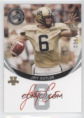 2006 Press Pass - Autographs - Silver Red Ink #JACU - Jay Cutler /200
