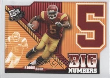2006 Press Pass - Big Numbers #BN 26 - Reggie Bush