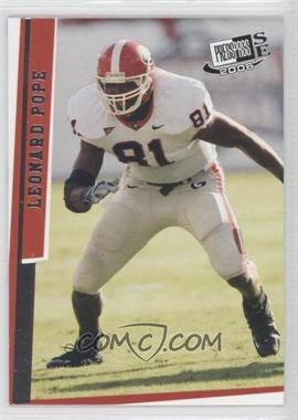 2006 Press Pass SE - [Base] #27 - Leonard Pope