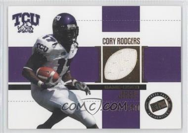 2006 Press Pass SE - Game Used Jerseys - Gold #JC/CR - Cory Rodgers /250