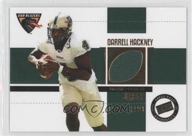 2006 Press Pass SE - Game Used Jerseys - Gold #JC/DH - Darrell Hackney /199