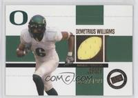 Demetrius Williams /199