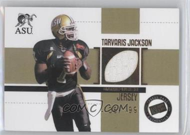 2006 Press Pass SE - Game Used Jerseys - Gold #JC/TJ - Tarvaris Jackson /199