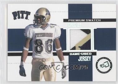2006 Press Pass SE - Game Used Jerseys - Premium #JC/GL - Greg Lee /25