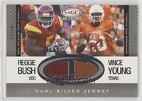 Reggie Bush, Vince Young #/50