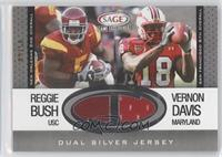Reggie Bush, Vernon Davis /50