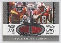 Reggie Bush, Vernon Davis #/50