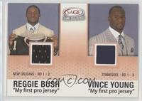 Reggie Bush, Vince Young [Noted]