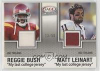 Reggie Bush, Matt Leinart #/50