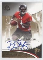 Rookie Authentic Signatures - D.J. Shockley #/25