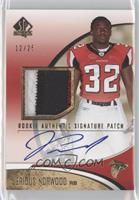 Rookie Authentic Signature Patch - Jerious Norwood #/25