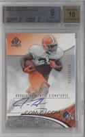Rookie Authentic Signatures - Jerome Harrison [BGS 9 MINT] #/1,175