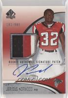Rookie Authentic Signature Patch - Jerious Norwood [NoneEXtoN…