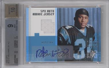 2006 SPx - [Base] #182 - Autographed Rookie Jersey - DeAngelo Williams /399 [BGS9MINT]