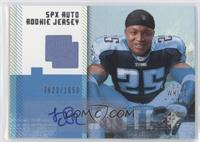 Autographed Rookie Jersey - LenDale White #/1,650