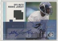Autographed Rookie Jersey - Kelly Jennings #/1,650