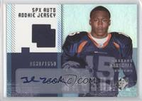 Autographed Rookie Jersey - Brandon Marshall #/1,650